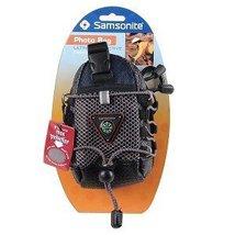 [NEW] Samsonite Rugged Water-Resistant Camera Bag with Compass Carabiner - $19.95