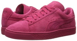Women's Puma Suede Classic + Colored Sneakers, 360584 02 Sizes 6.5-9.5 Rose Red - $89.95