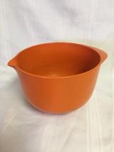 Vintage Rosti 2 Litre Orange Bowl  Denmark Mepa... - $15.00