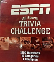 ESPN All Sports Trivia Challenge Board Game Complete USAopoly Football Tailgate - $14.60