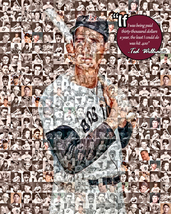 Ted Williams Photo Mosaic Print Art - $20.00+