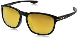 Oakley Men's Enduro OO9274-02 Oval Sunglasses, Matte Black, 55 mm - $99.99