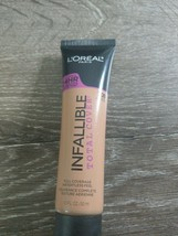 L'Oréal Infallible Total Cover Foundation Full Coverage 1.0oz. 308 Sun B... - $9.85