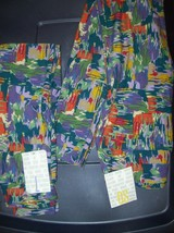 Lularoe Leggings Mommy & Me Set  both brand new with tags OS & KIDS LARG... - $33.00