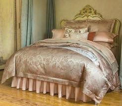 Sferra Bellanca 4 Piece F/Queen Duvet Cover Shams Egypt Cotton Sateen ITALY New - $435.90
