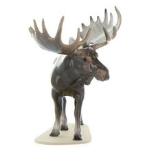 Hagen Renaker Miniature Bull Moose on Base Ceramic Figurine image 10