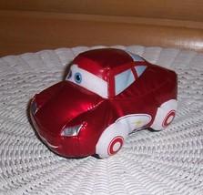 "Disney Cars Bright Red Ferrari F430 6"" Soft Vinyl Car by Mattel No Sound - $5.89"
