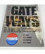 Gateways to Democracy The Essentials ~ Textbook only 3rd Third Edition #105 - $18.69