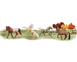 Breyer 6036 stablemate Dots & Dapples horses set of 4 different styles <> - $18.37