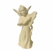 Goebel birthday angel Christmas figurine hummel West Germany W Harp heav... - $29.65