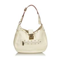Pre-Loved Louis Vuitton White Suhali L Affriolant Bag France - $754.81
