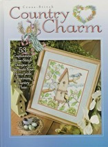 """Hard Cover Book - """"Country Charm"""" - The Needlecraft Shop - Gently Used - $18.00"""