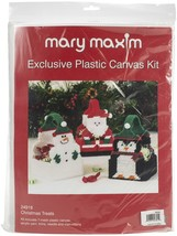 "Mary Maxim Plastic Canvas Basket Kit 4""-Christmas Treats (7 Count) - $29.69"