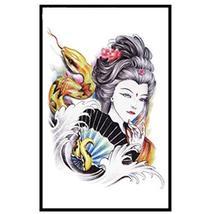 4 Pcs Snake Demon Beauty Waterproof Body Tattoo Stickers