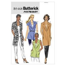 Butterick Patterns B5468 Misses' Jacket, Size E5 (14-16-18-20-22) - $10.78