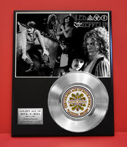 LED ZEPPELIN  PLATINUM RECORD LTD EDITION RARE COLLECTIBLE  MUSIC GIFT A... - $90.95