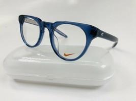 New KIDS NIKE KD88 401 Crystal Midnight Navy Eyeglasses 46mm with NIKE Case - $89.05