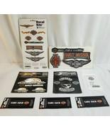 NIP HARLEY DAVIDSON Sticker & Decal Lot SCREAMING EAGLE, Cars Suck, Ride... - $33.55