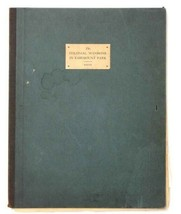 1933 antique FOLIO PRINTS FAIRMOUNT PARK COLONIAL MANSIONS phila pa 7 LI... - $275.00