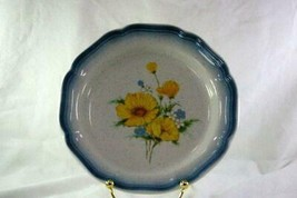 Mikasa 1985 Amy Salad Plate Stoneware #CA503 Country Club Line - $4.15