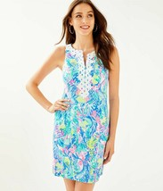 Lilly Pulitzer Gabby Stretch Shift Dress, Multi Mermaids Cove - $95.00