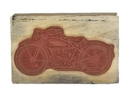 Motorcycle Rubber Stamp image 2