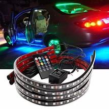 ZYTC Car Underglow Lights,60-90cm Led Strip Lights 12V RGB Neon Strip Lights 505