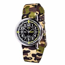 EasyRead time teacher ERW-BKG-PT-GC Watch Black Green Past to, Green Cam... - $36.23