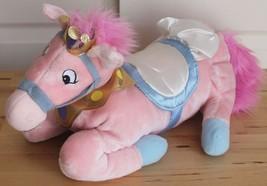 Disney Store Stuffed Horse Pony Pink Princess Sleeper PJ Pajama Bag Plus... - $23.95