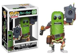 Rick & Morty TV Series Pickle Rick w/ Laser Vinyl POP! Figure Toy #332 F... - $12.55