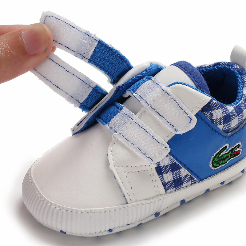 Free Shipping Blue Baby Walking Shoes Leather Toddler Shoes Size 1,2,3 L6482 image 5