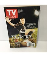 TV Guide Sept 16-22 2000 U.S Soccer Star Julie Foudy Summer Olympics Cover - $12.82