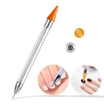 Ownsig Wax Rhinestone Picker, Nail Art Wax Tip Pencil Dotting Pen Applic... - $9.68