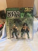 KISS Psycho Circus Peter Criss and Animal Wranger Figures 1998 McFarlane - $15.83