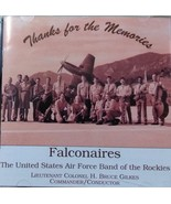 USAF Academy Band  Falconaires Thanks for the Memories CD - $5.95