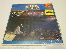 1962 LP RECORD  NAT KING COLE AT THE SANDS - £3.97 GBP