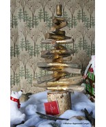 POTTERY BARN GOLD DRIFTWOOD TREE -NIB- GREAT FOR HOLIDAY TIME, MARITIME,... - $54.95