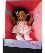1985 MY CHILD AA DOLL AFRIC AMER, Black Hair, Brown Eyes Pink Party Dre... - $292.05