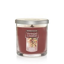 Yankee Candle Autumn Wreath Small Single Wick Tumbler Candle, Food & Spi... - $10.24