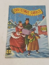 Vtg. Book of Christmas Carols Small Booklet Songs History 7 Songs Silent... - $11.87