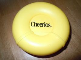 General Mills Cheerio's  Kid's Plastic Yellow Snack Holder - $1.99