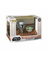 NEW SEALED Funko Pop Star Wars Mandalorian with Child Baby Yoda - $55.77