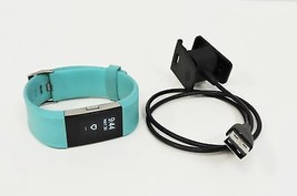 Fitbit Charge 2 Heart Rate Activity Tracker - Large, Teal - $1.455,28 MXN