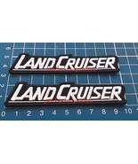 Toyota Landcruiser Logo Car Racing Trucks 4x4 Sew on Embroidery 2pcs Patch - $9.99