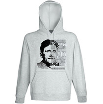 George Orwell - Society - New Cotton Grey Hoodie - $31.88