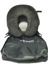 SENDI Travel Pillow With Carrying Bag Memory Foam Neck Car Airplane U Shape - $13.81