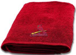 St. Louis Cardinals Bath Towel measures 25 x 50 inches - $17.95