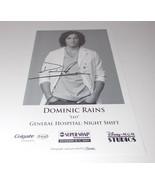 Dominic Rains Autograph Reprint Photo 9x6 General Hospital 2007 Chicago Med - $9.99