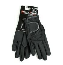 Matchmakers Harry Hall Pimple Grip Gloves White Cotton Riding Horse Medium