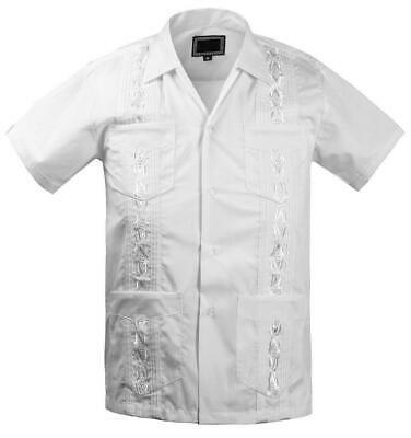 Guayabera Kids Junior Beach Wedding Baptism Button-Up Casual Dress Shirt - 14